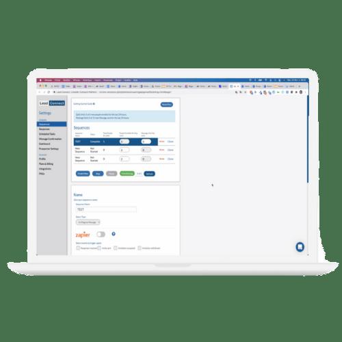 illustration formation prospection digital lead connect